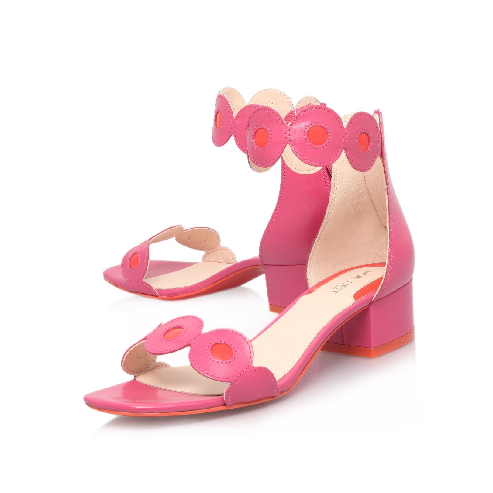 Baby Pink Open Toe Shoes
