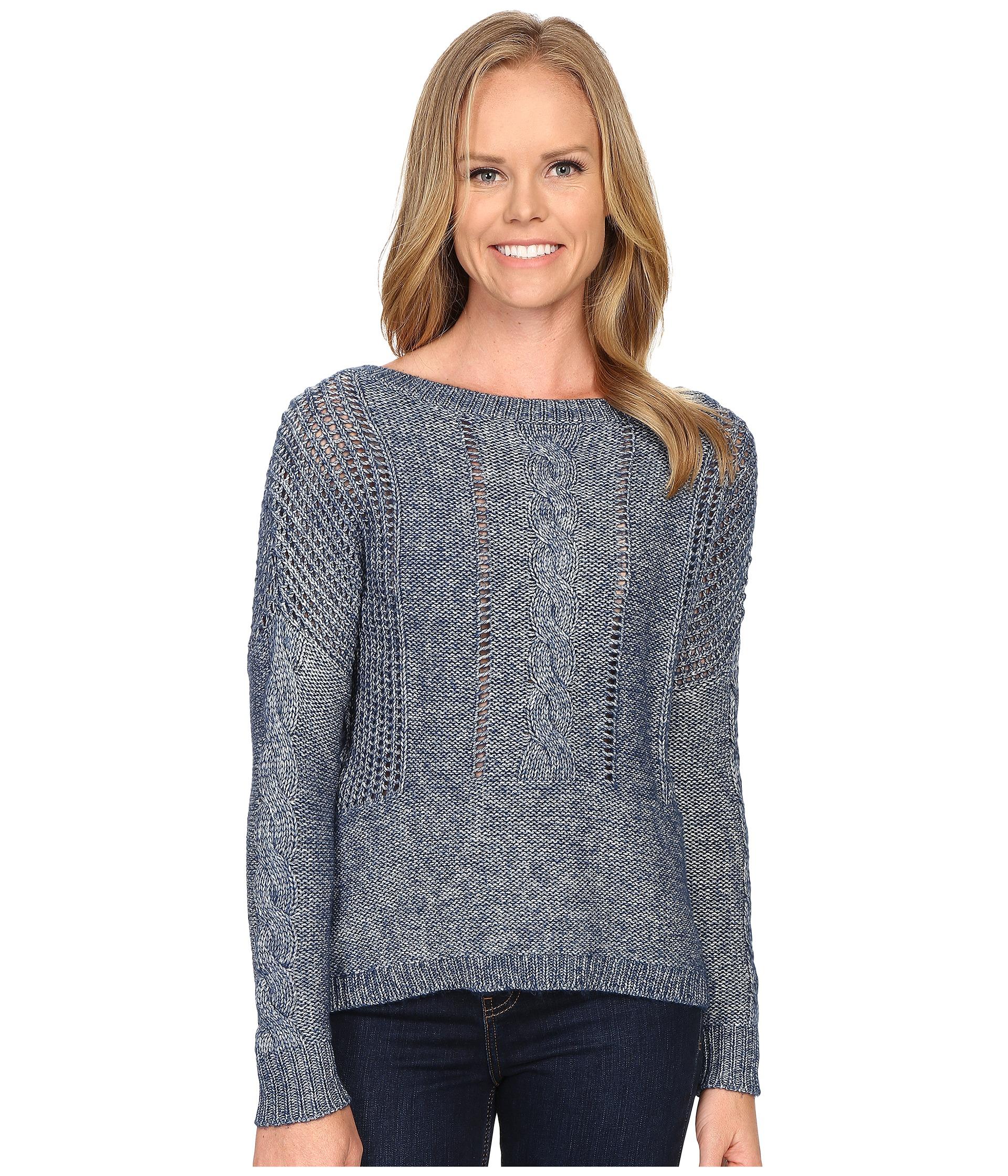 lol 235 taraji sweater in blue lyst