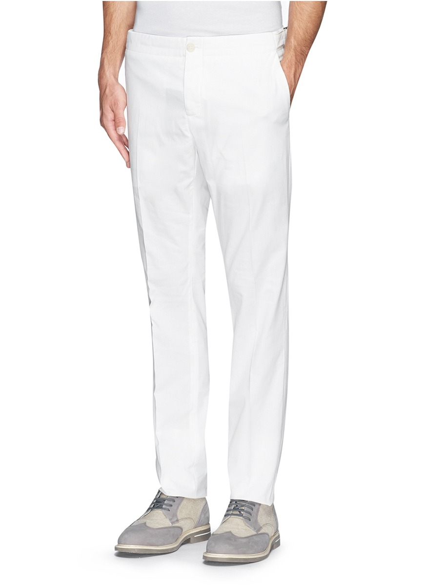 Lyst Fa 231 Onnable Side Adjuster Cotton Twill Pants In