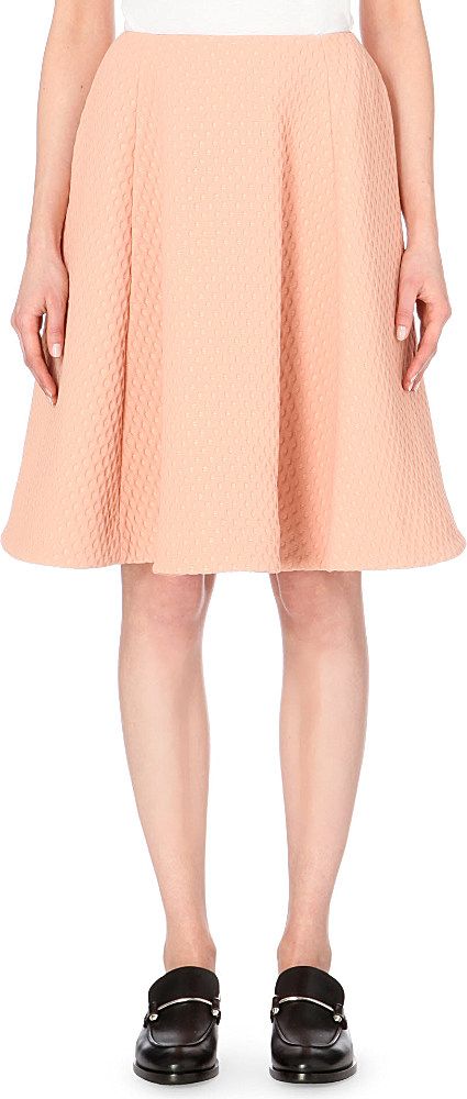 j w polka dot a line skirt for in pink