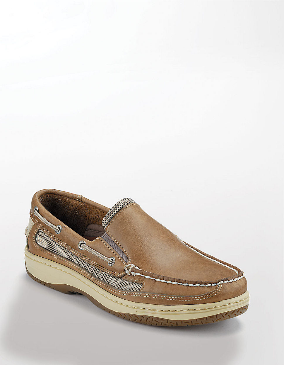 Sperry Billfish Leather Slip On Shoes