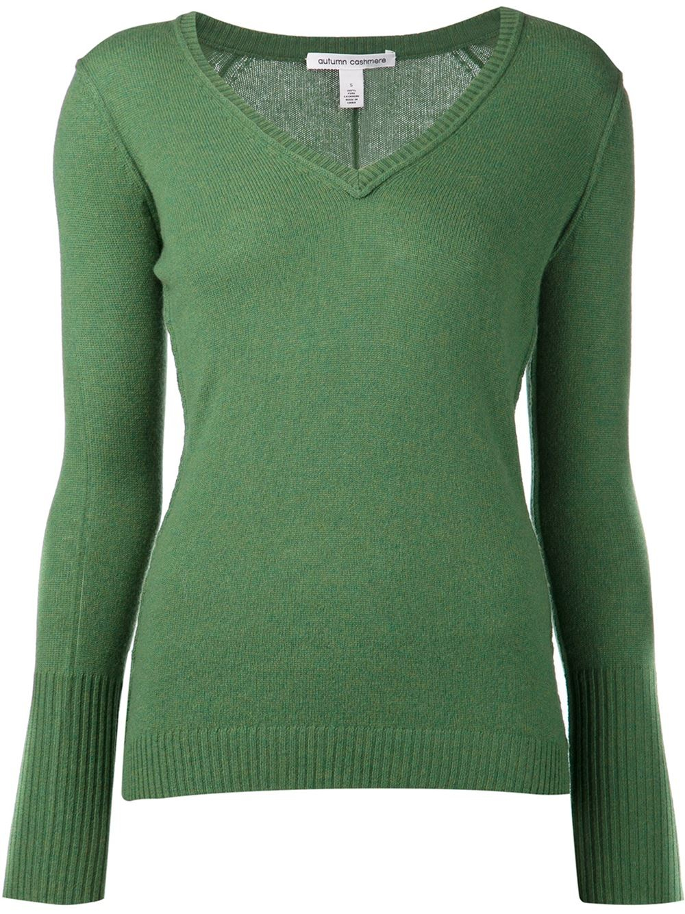 Green Cashmere Sweater