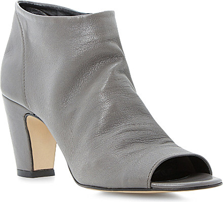 Beautiful Home Shoes Womens Boots Joeyy Women Faux Leather Gray Ankle Boot
