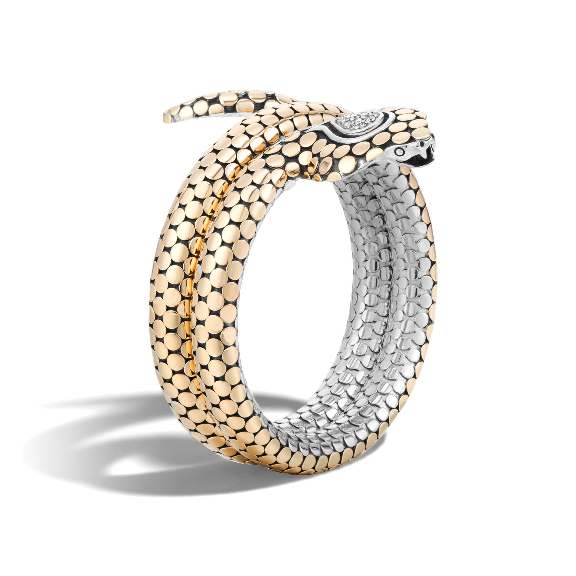 John Hardy Cobra Triple Coil Bracelet bNT7JdCTFq