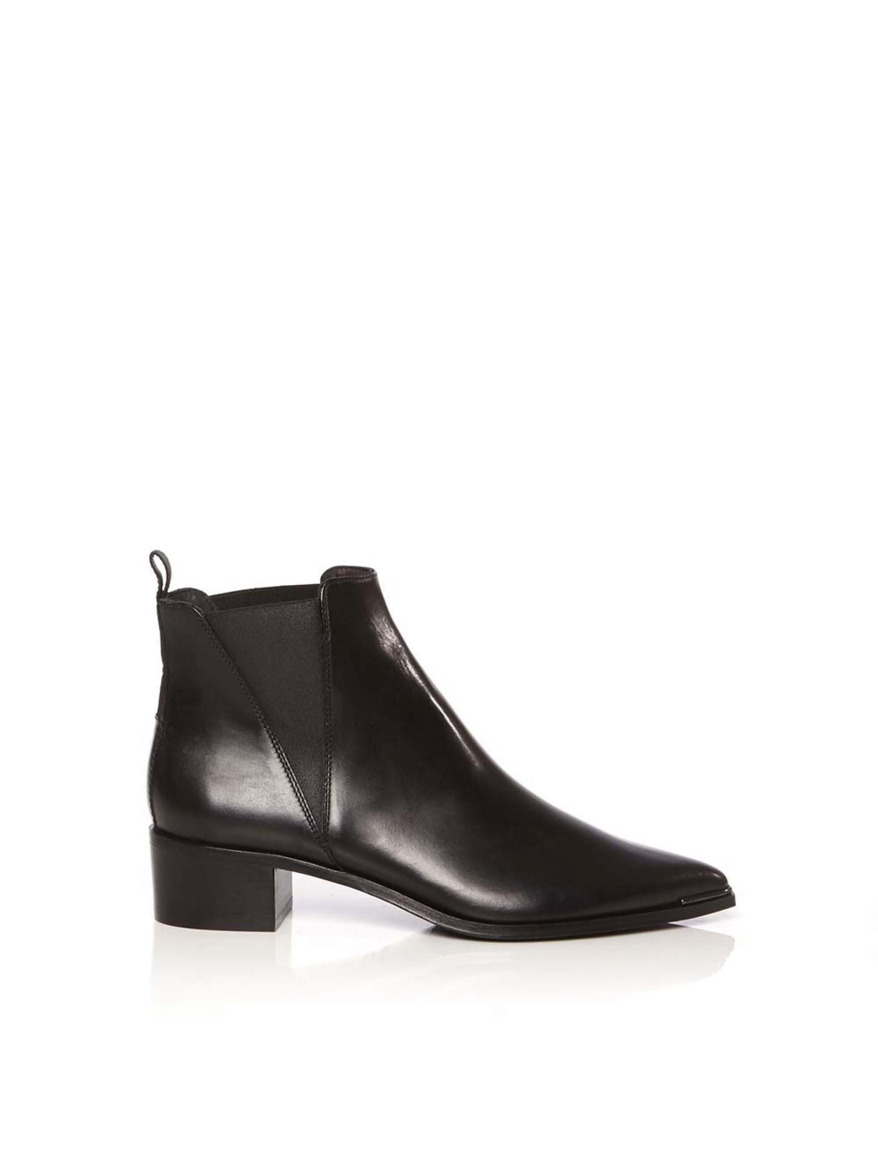 acne studios jensen calf boot in black lyst. Black Bedroom Furniture Sets. Home Design Ideas