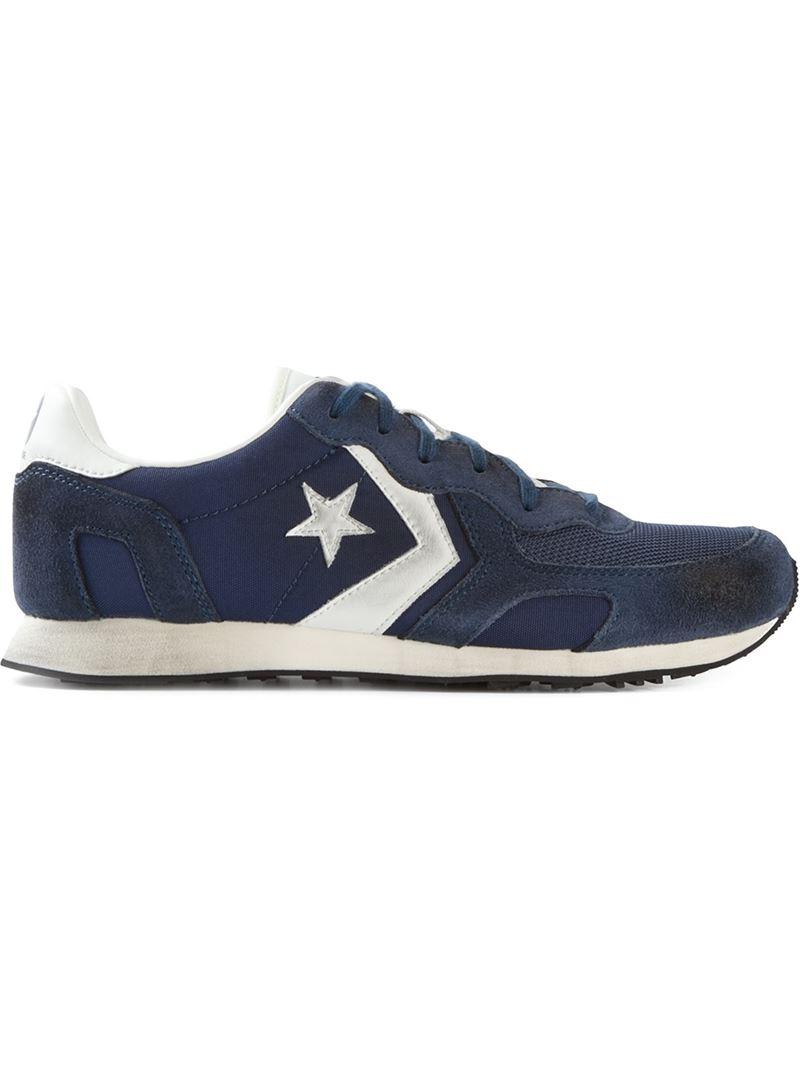 Lyst Converse Star Stripe Sneakers In Blue For Men
