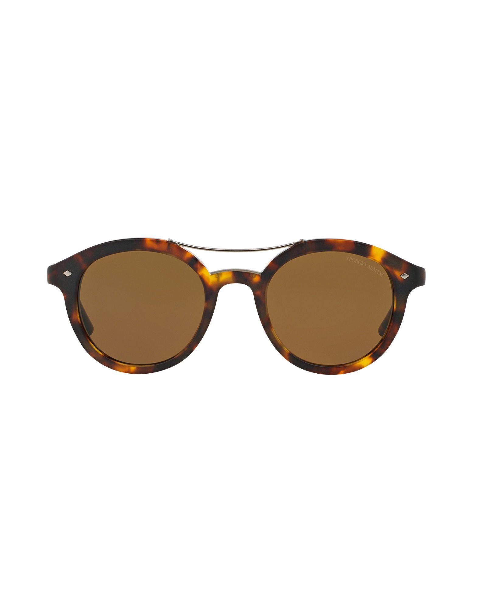 Giorgio armani Sunglasses in Brown for Men | Lyst