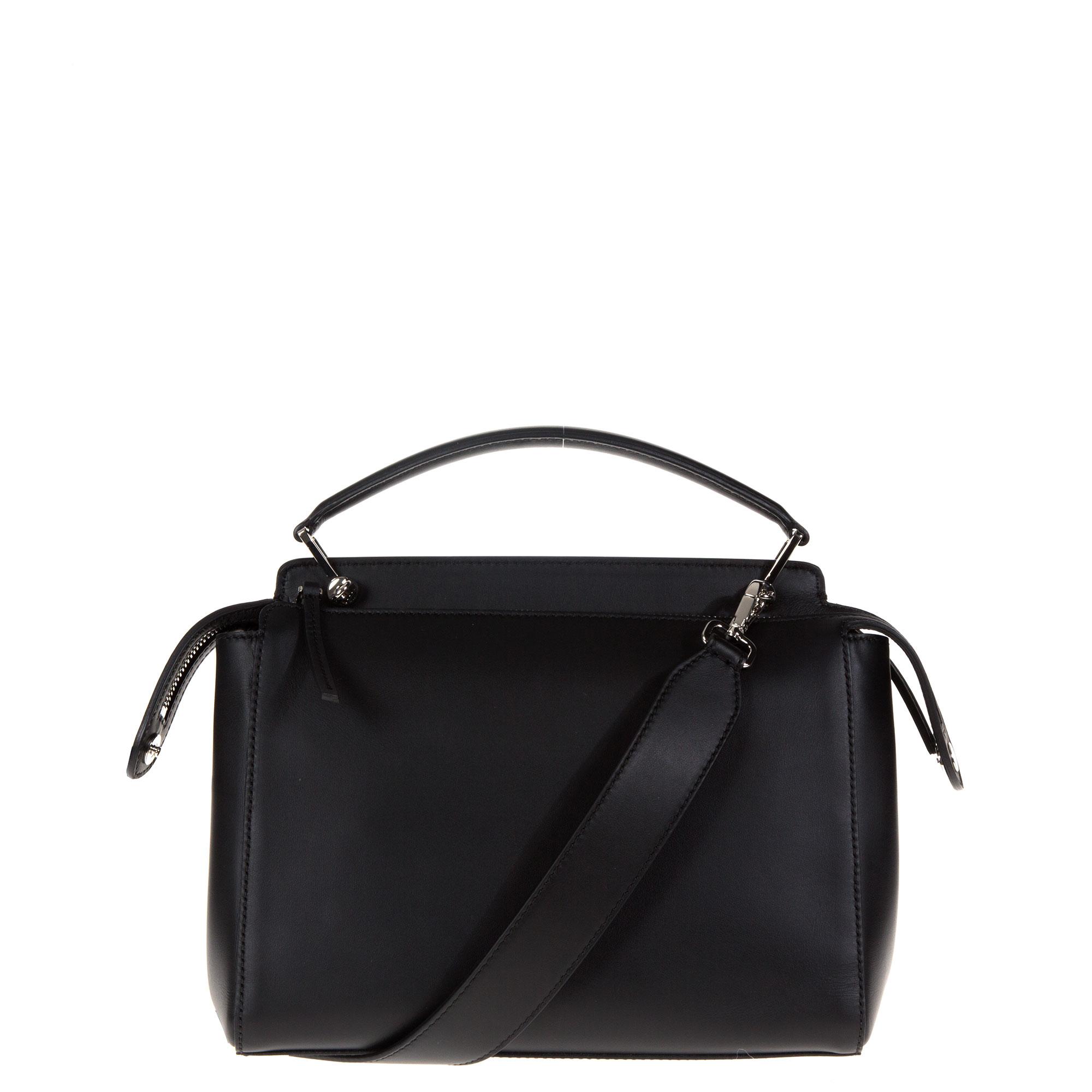 5c2ac24474b2 fendi dotcom two-tone leather satchel