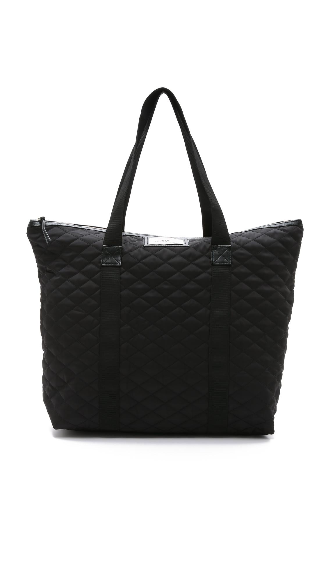 lyst day birger et mikkelsen quilted day gweneth bag. Black Bedroom Furniture Sets. Home Design Ideas