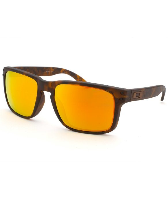 orange oakleys  Oakley Men\u0027s Fall Out Holbrook Square Tortoise Sunglasses in ...