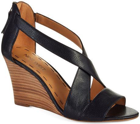 Black Platform Sandals Black Wedge Sandals Nine West