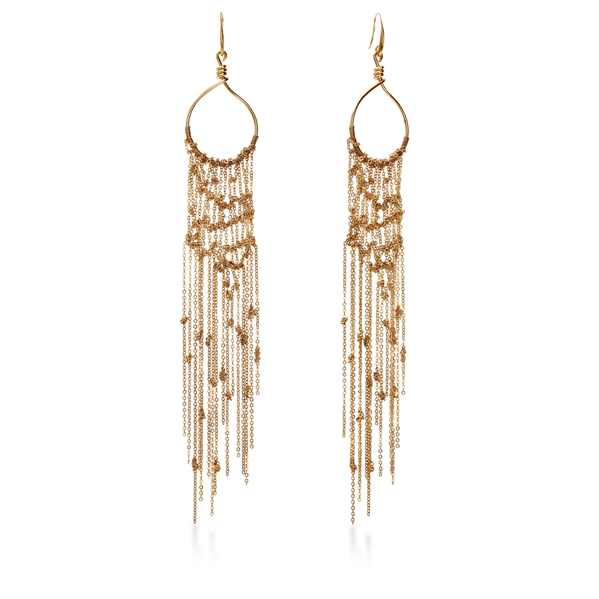 Lyst Diane Von Furstenberg Thea Mesh Dream Catcher Chandelier