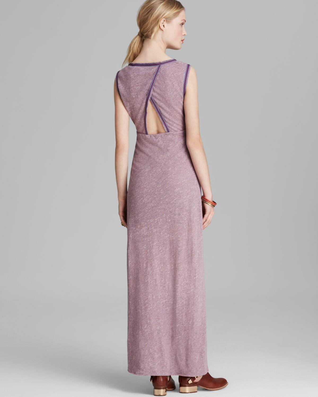 061c7d993aab4 Lyst - Free People Maxi Dress Sabrina in Purple