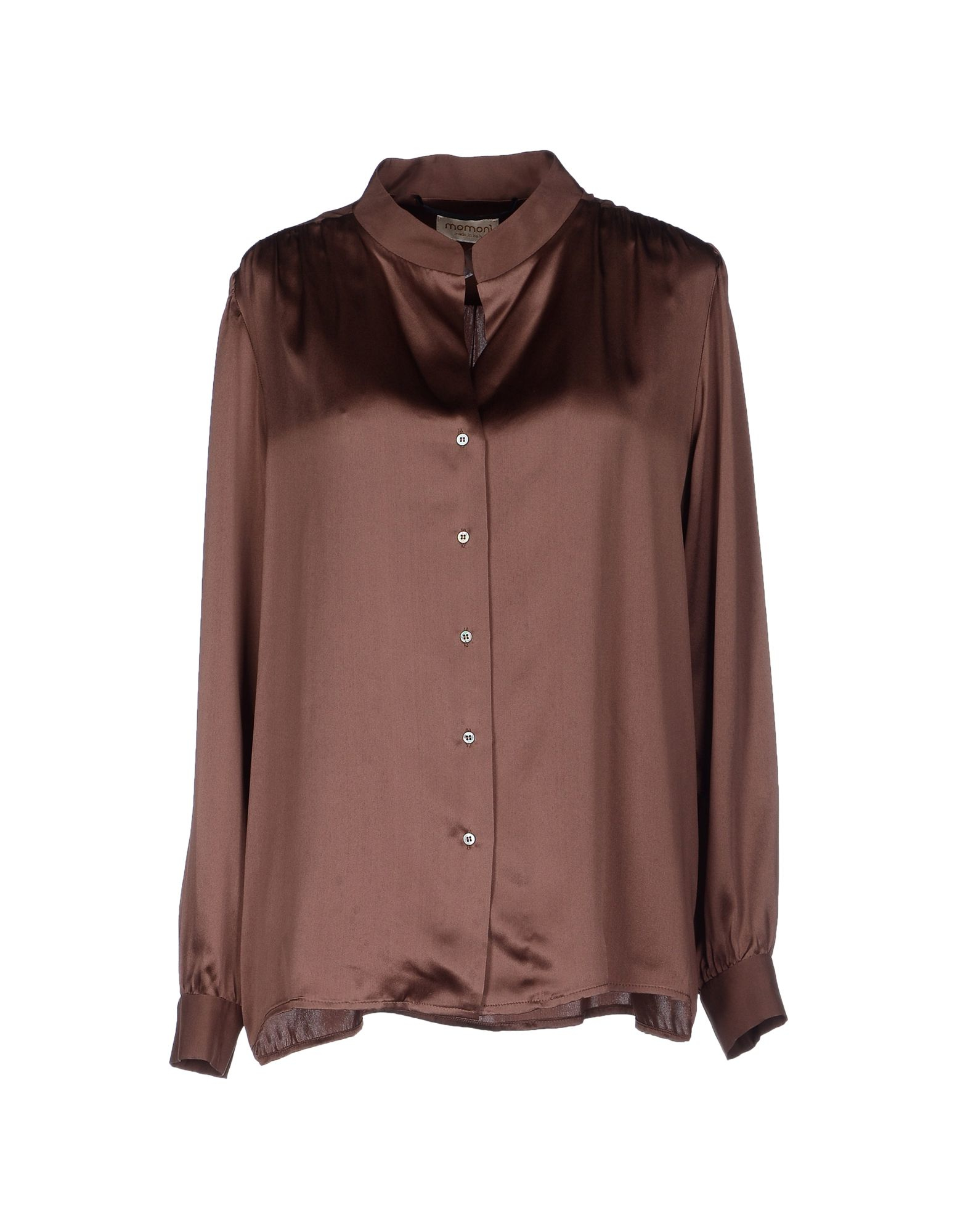 Lyst Momon 237 Shirt In Brown