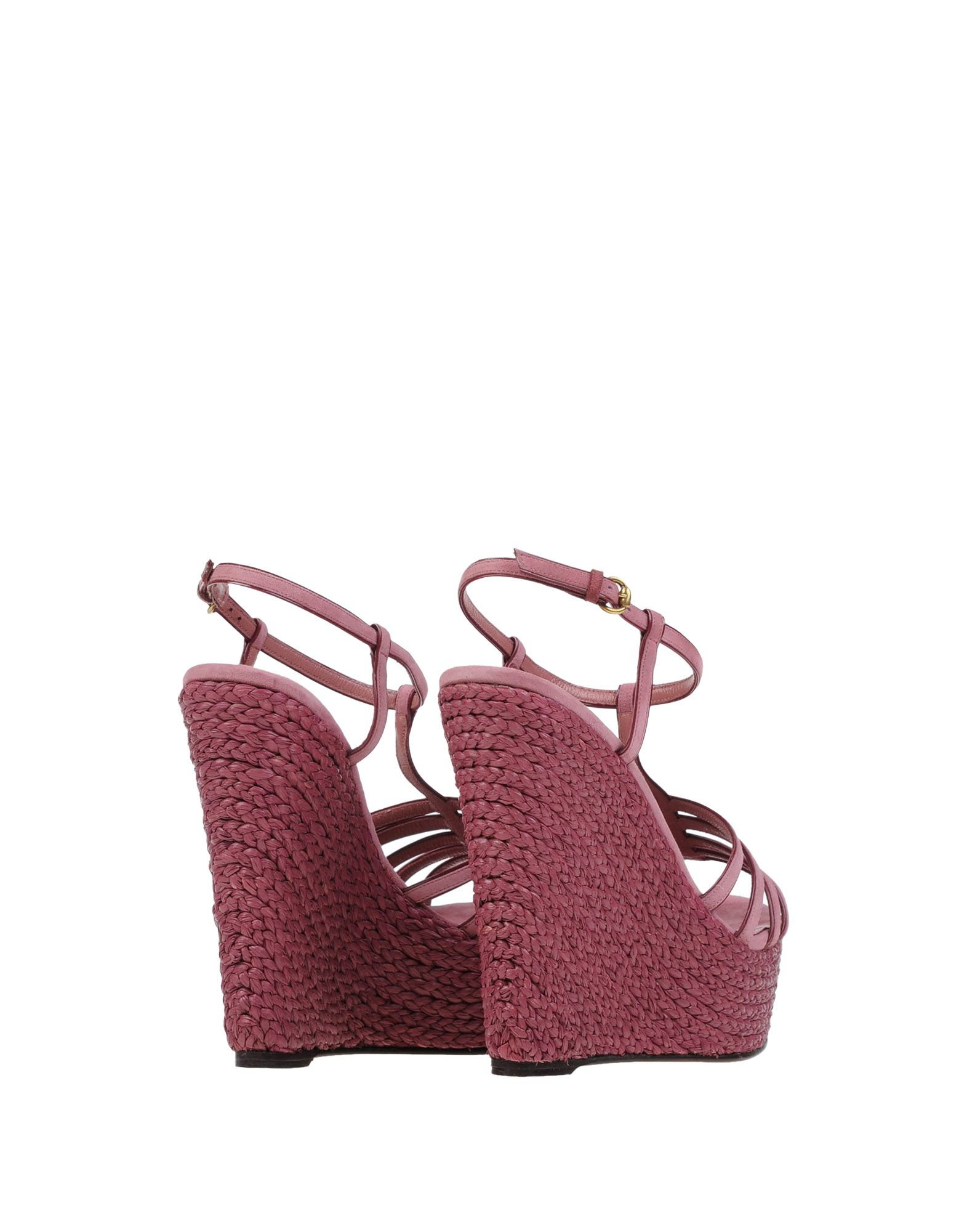 Lyst - Gucci Sandals in Pink