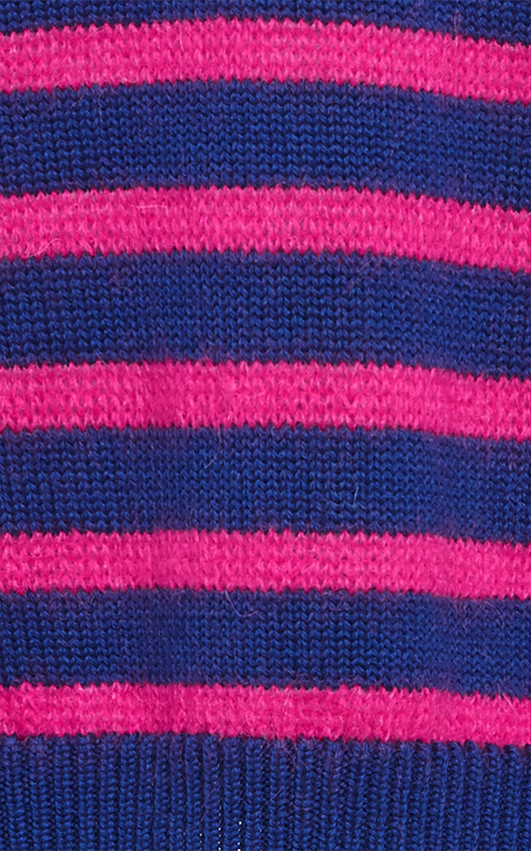 Stella jean Virgin Wool And Mohair Yonkers Striped Sweater in Pink ...