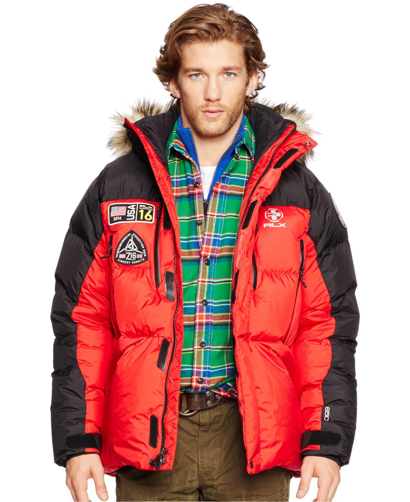 Marein Polo Ralph Lauren Rlx Expedition Down Jacket