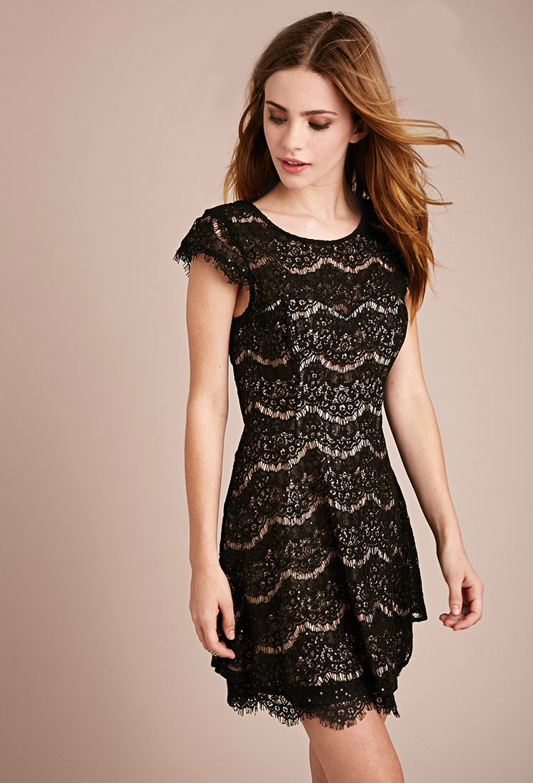 07a5187b769 White Lace Mini Dress Forever 21 - Gomes Weine AG