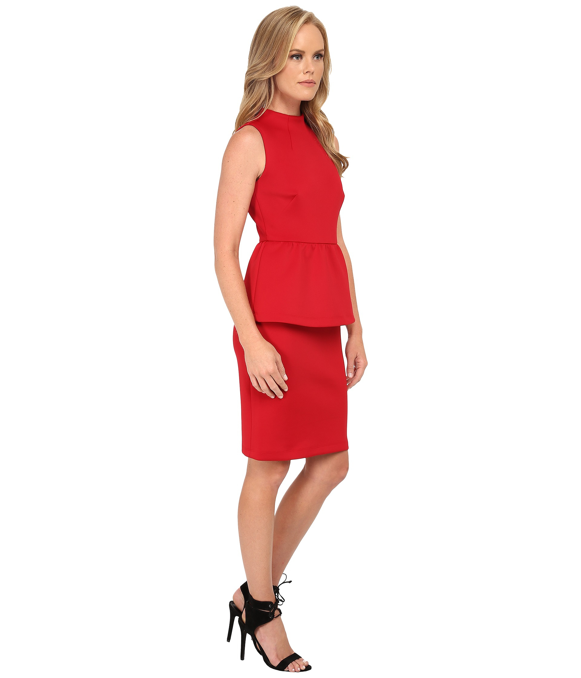 Shoshanna Dahlia Dress in Red  Lyst