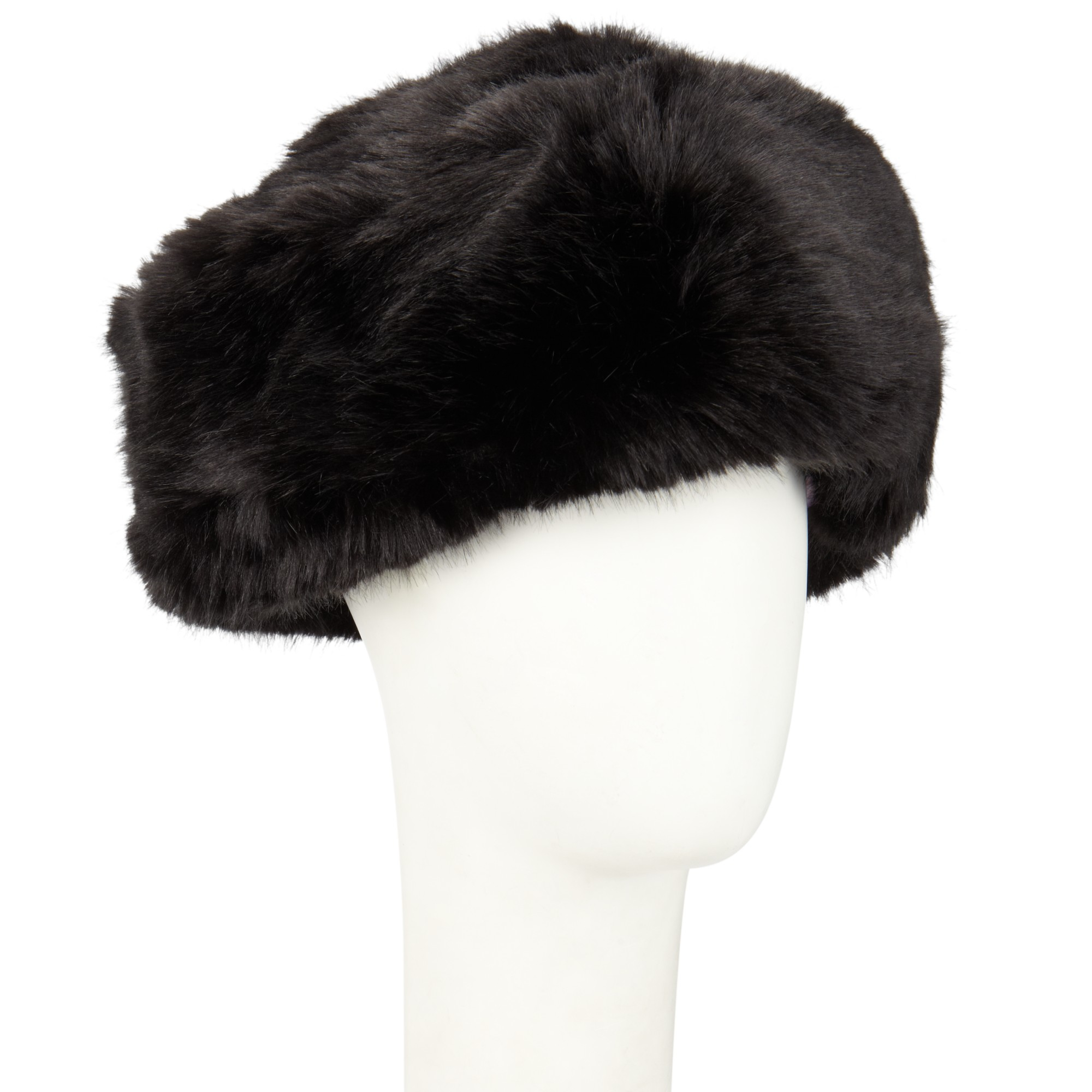 f85c1d7a4f5cf Ted Baker Karah Faux Fur Cossack Hat in Black - Lyst
