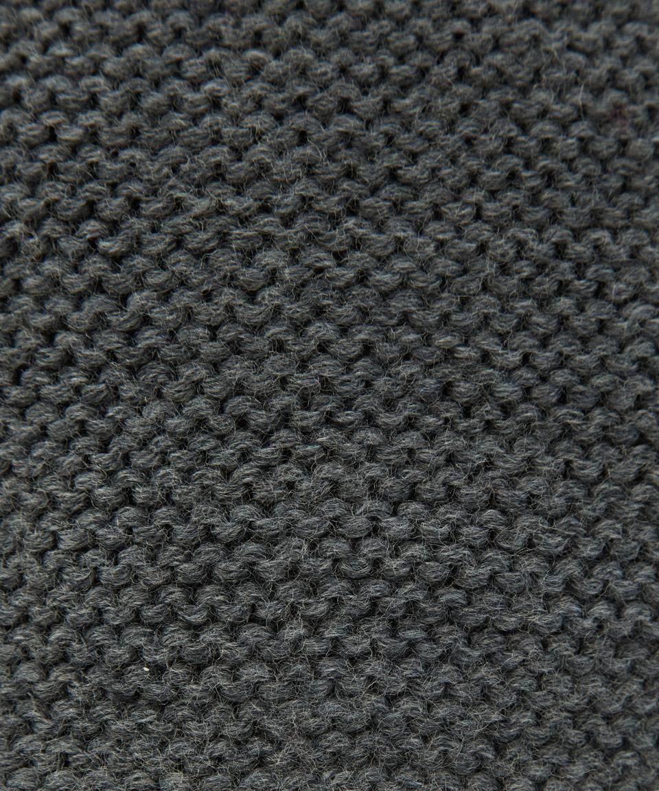 Lyst Folk Grey Textured Knit Wool Beanie Hat In Gray For Men