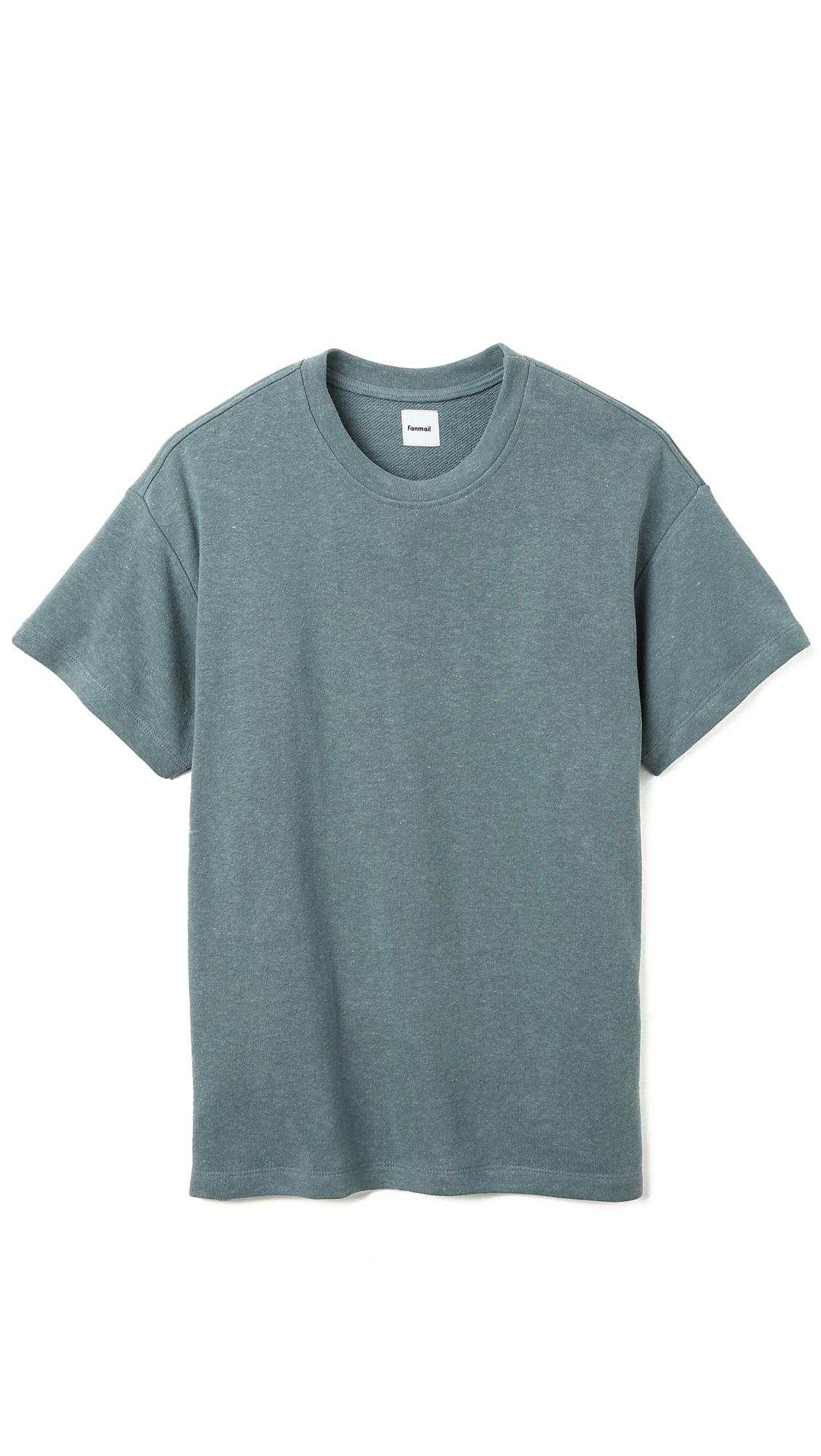 Lyst - Fanmail Short Sleeve Sweatshirt in Blue for Men