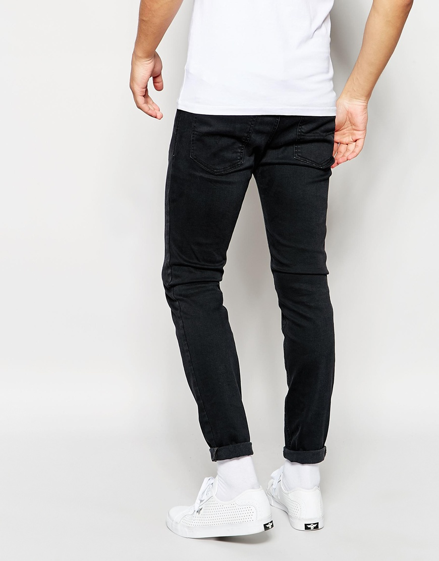 Soft Black Jeans - Jeans Am
