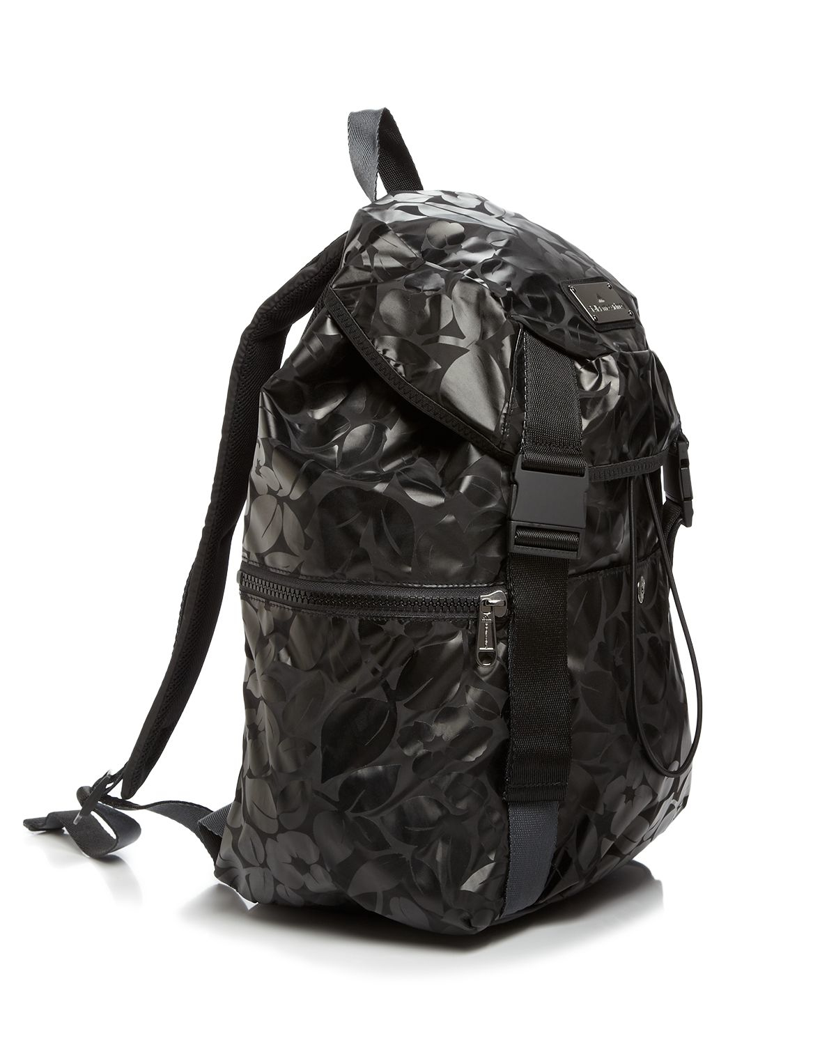 07dcdcbce2f1 Lyst - adidas By Stella McCartney Backpack - Metallic in Black