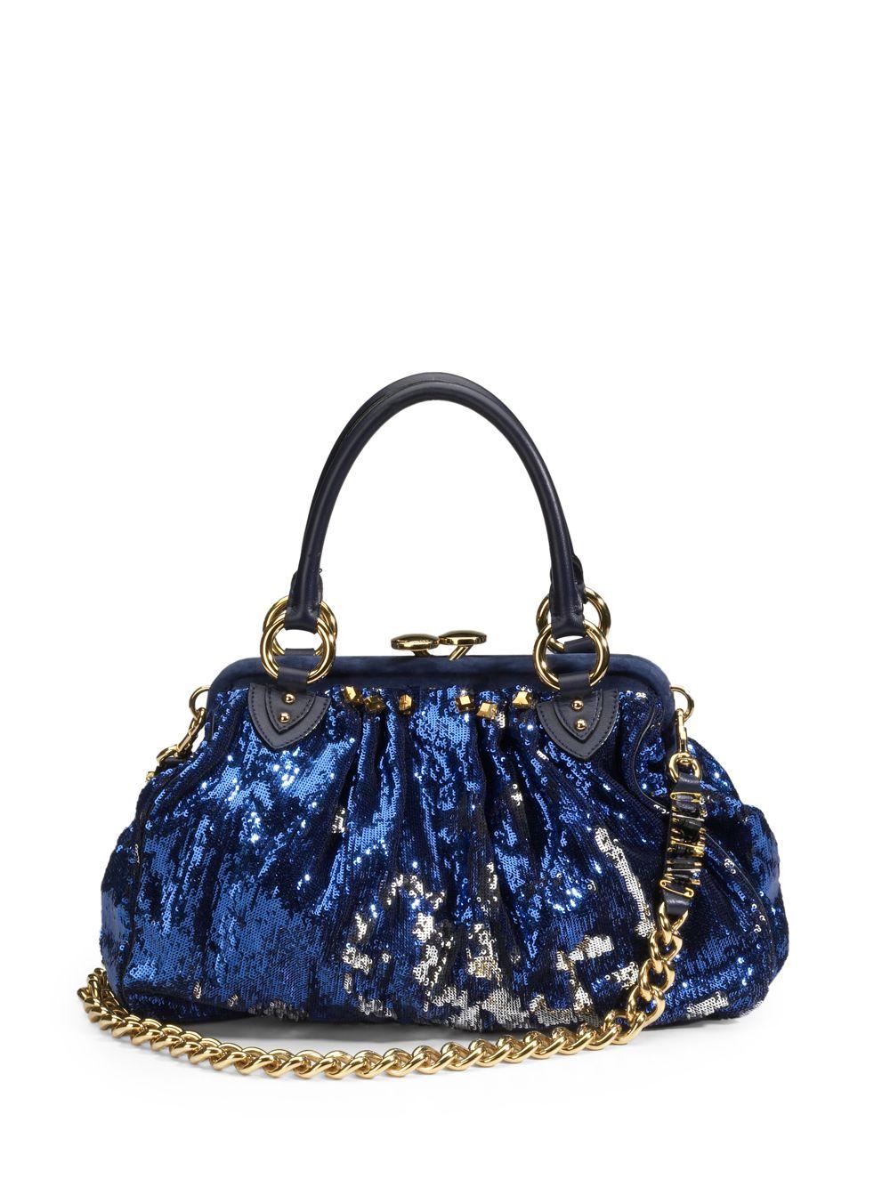 Marc Jacobs New York Rocker Sequin Stam Bag 6oqevhj918