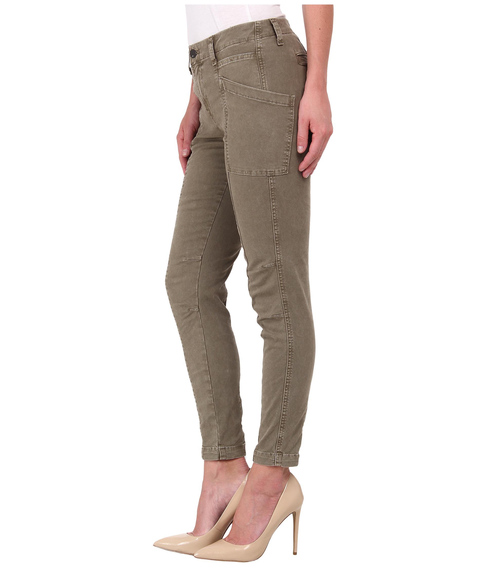 Innovative Skinny Khaki Cargo Pants For Women  White Pants 2016