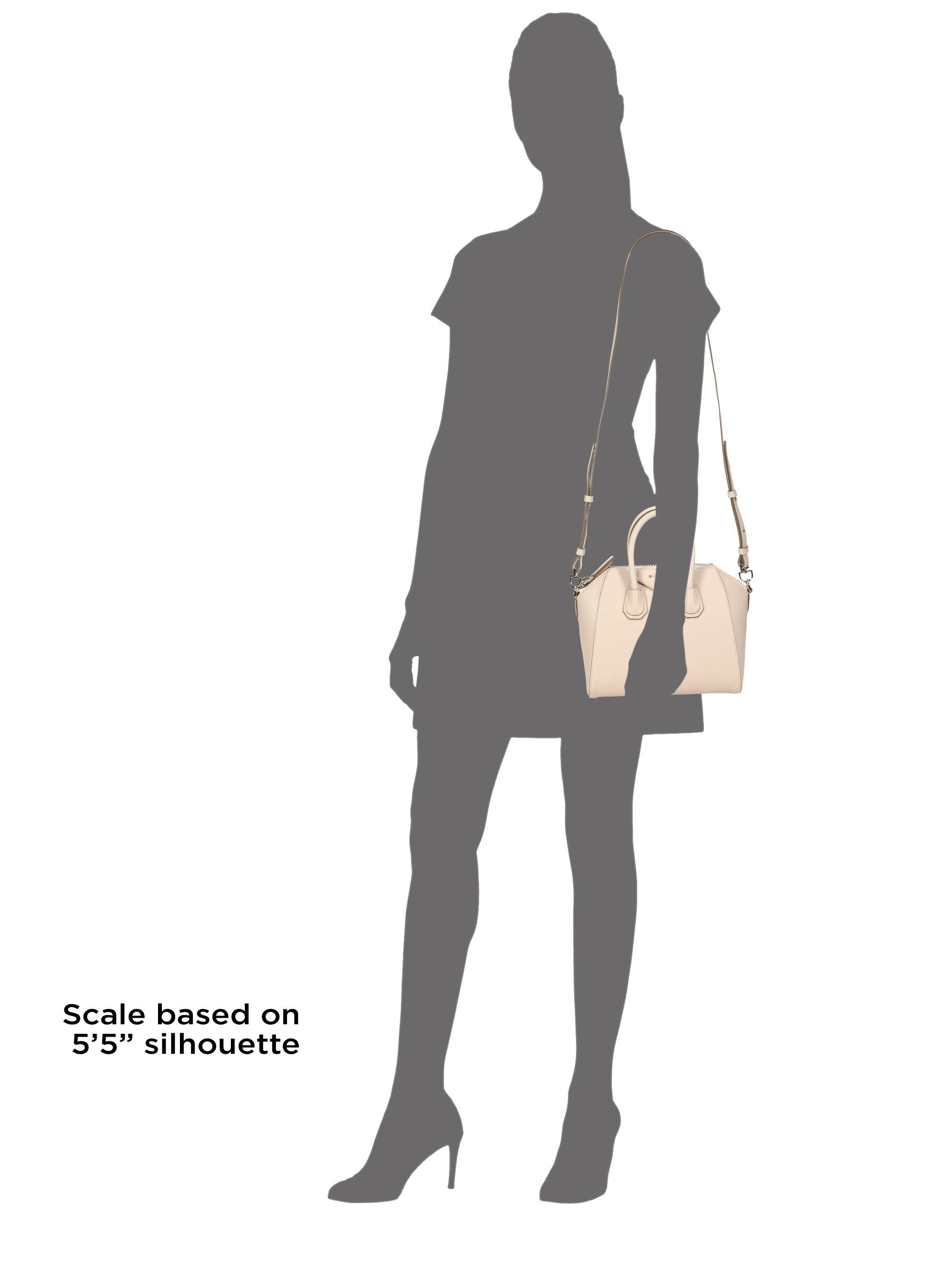 Lyst - Givenchy Antigona Mini Leather Satchel in Natural 9b310a2811d84