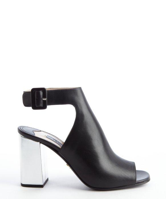 Prada Open Toe Boots