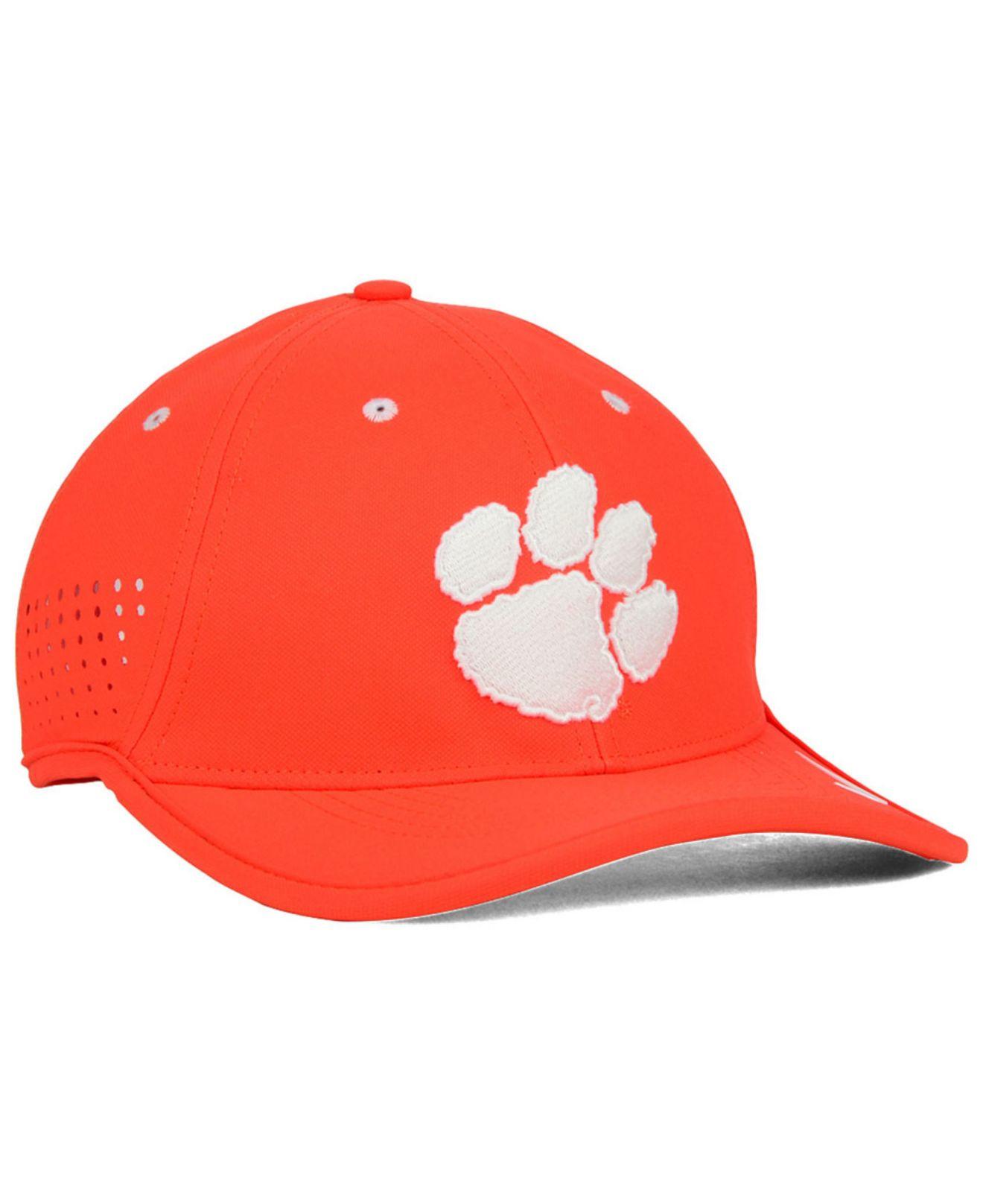 separation shoes 8d168 fd587 ... cheap lyst nike clemson tigers dri fit coaches cap in orange for men  d5ba3 50baa