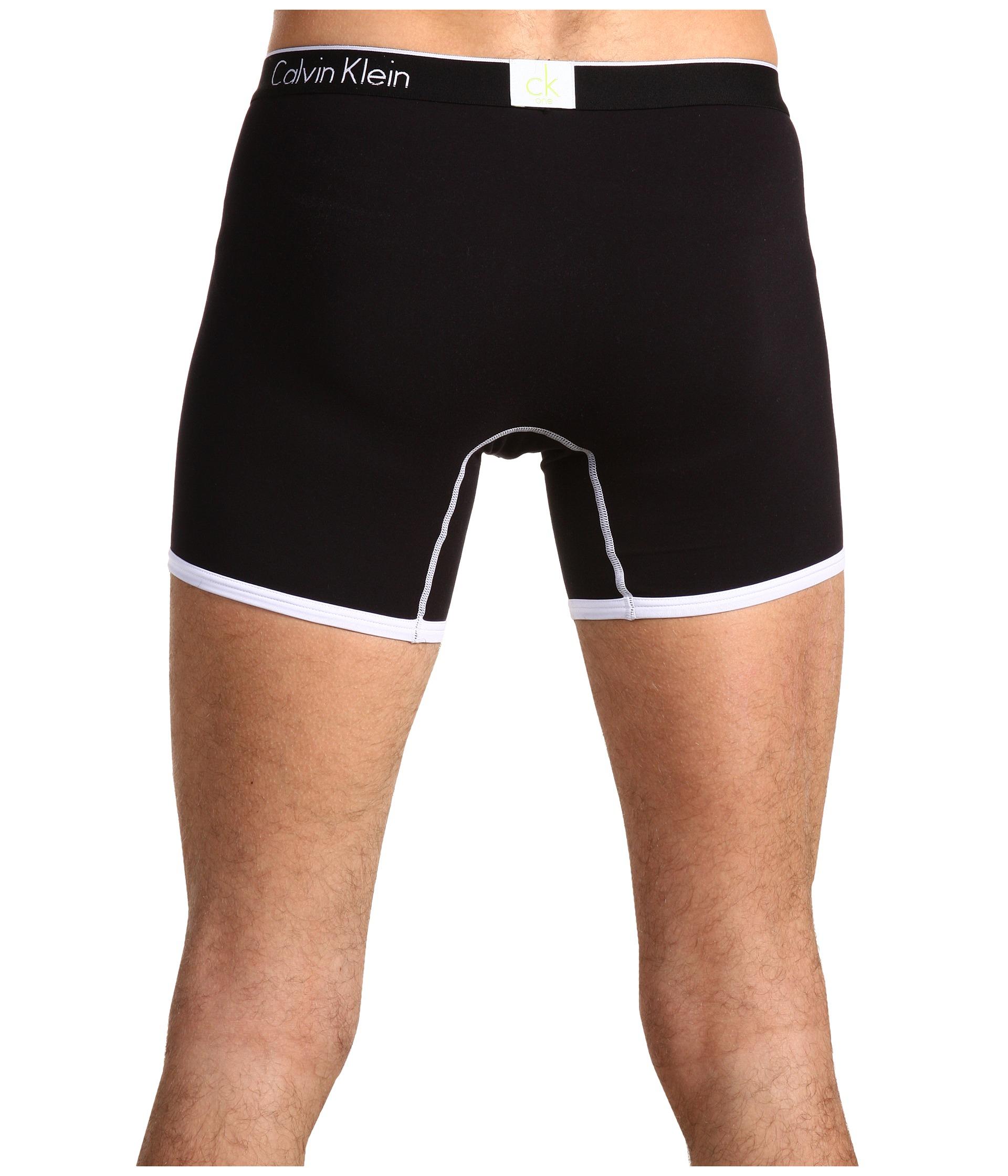 565e64788b4b Lyst - Calvin Klein Ck One Microfiber Boxer Brief in Black for Men