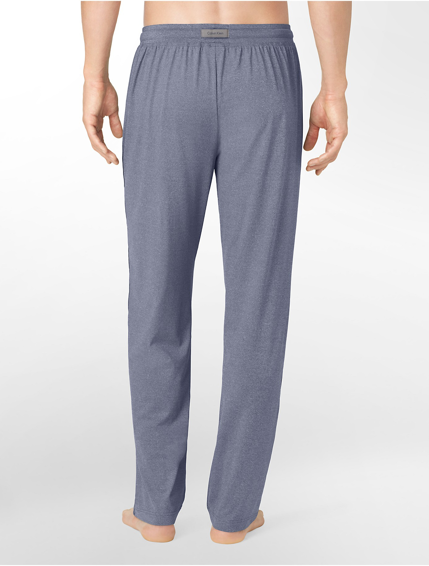 Lyst Calvin Klein Ease Yoga Pants In Blue For Men