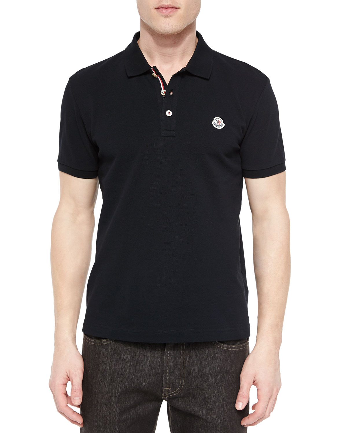 moncler polo deep purple