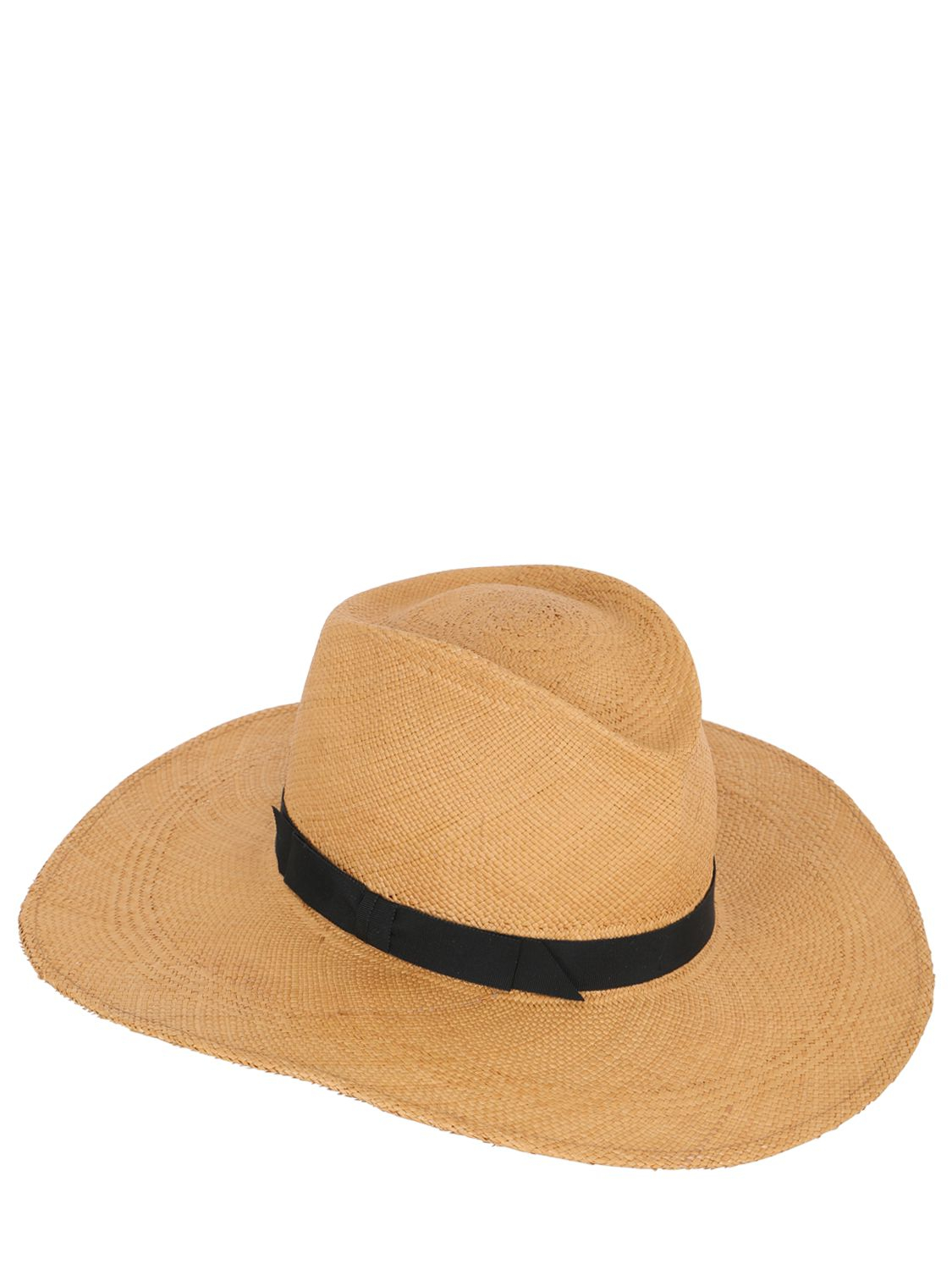 Lyst - Gladys Tamez Millinery The Jackie O Panama Straw Hat in Natural 191ecd1ef3b1