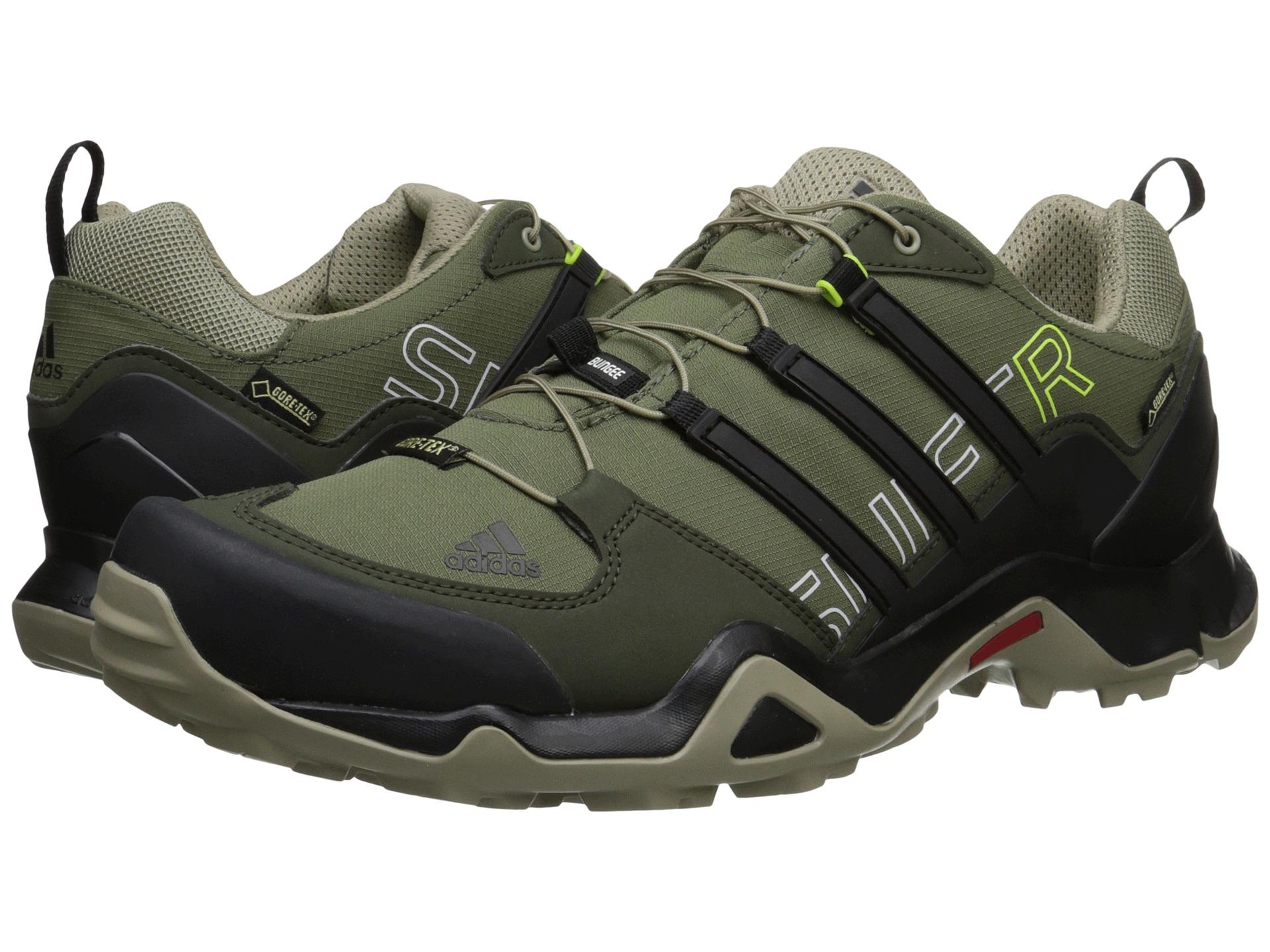 Adidas Terrex Swift R Gtx 174 In Gray For Men Base Green