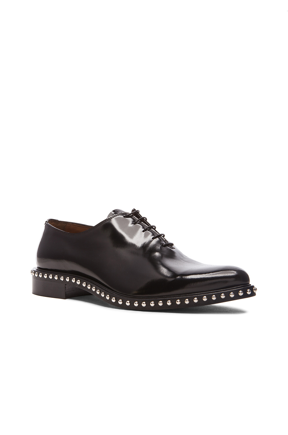 givenchy richel studded leather dress shoes in black lyst