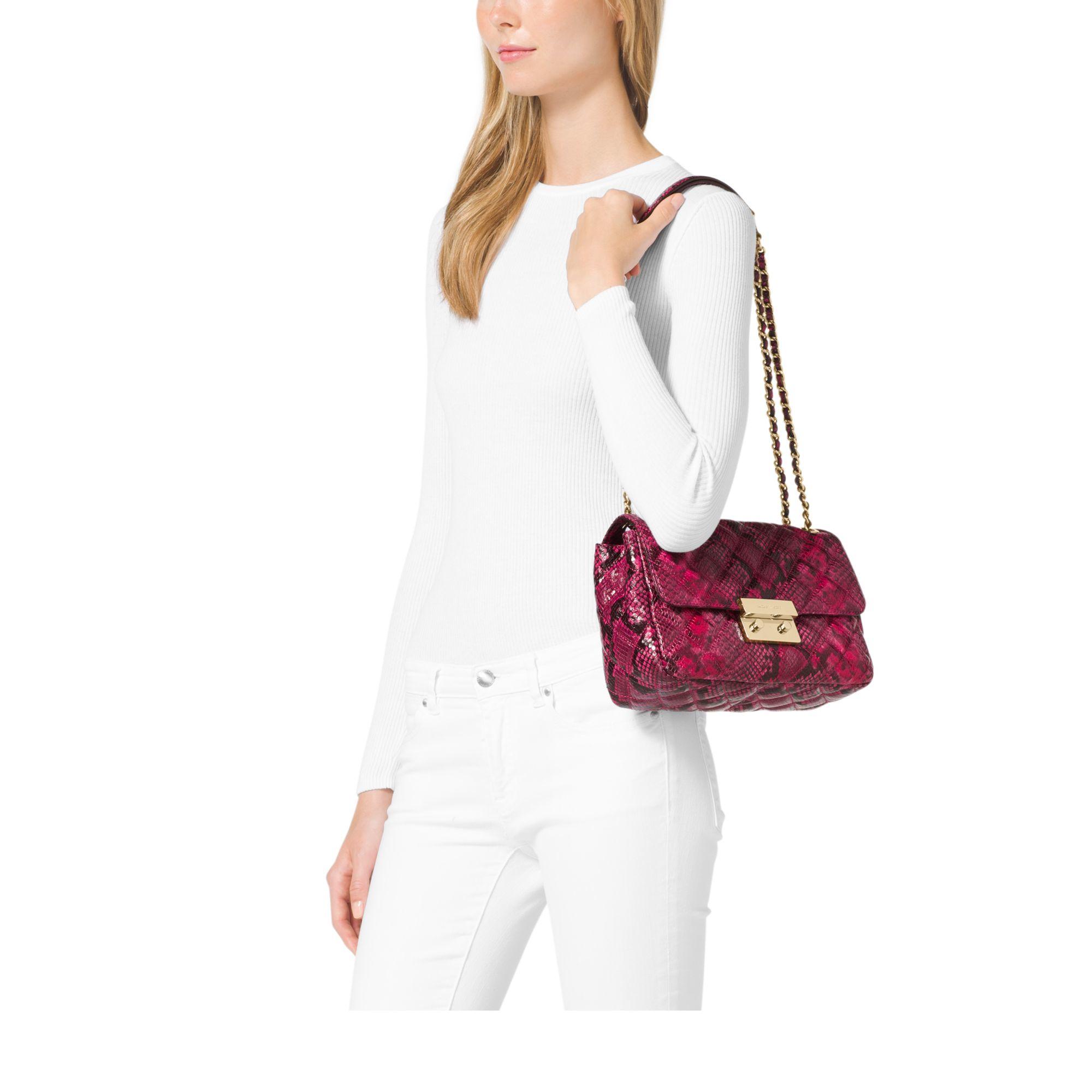 4571aba6e4f4 Gallery. Women's Michael By Michael Kors Sloan Women's Michael Kors Quilted  Bag