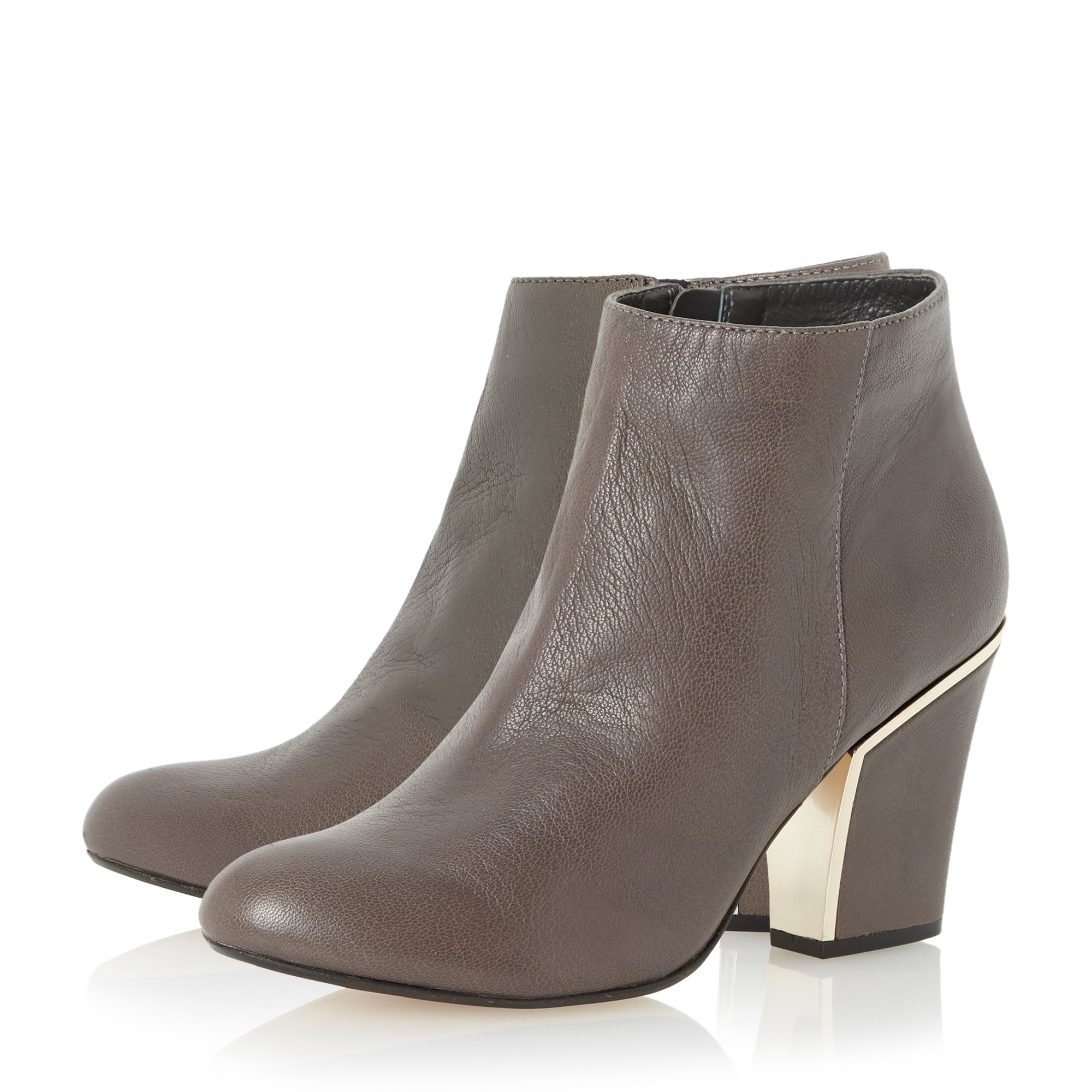 dune olsenn ankle boots in brown lyst