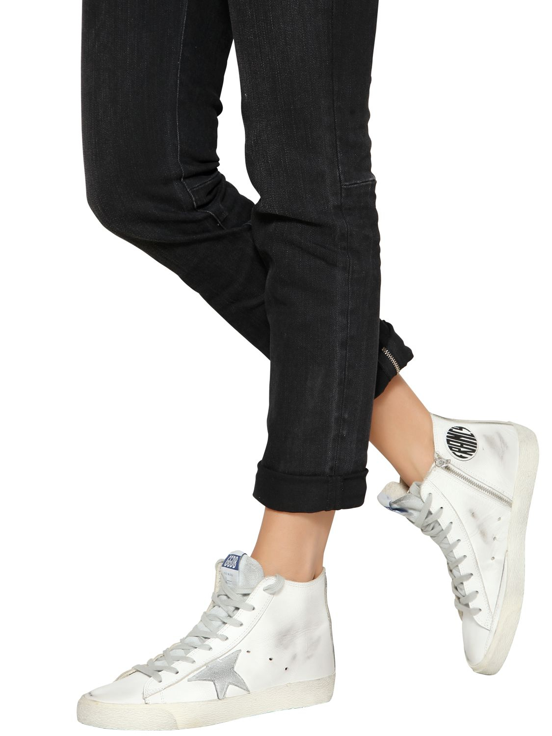 Golden Goose & Francy High-Top Sneakers