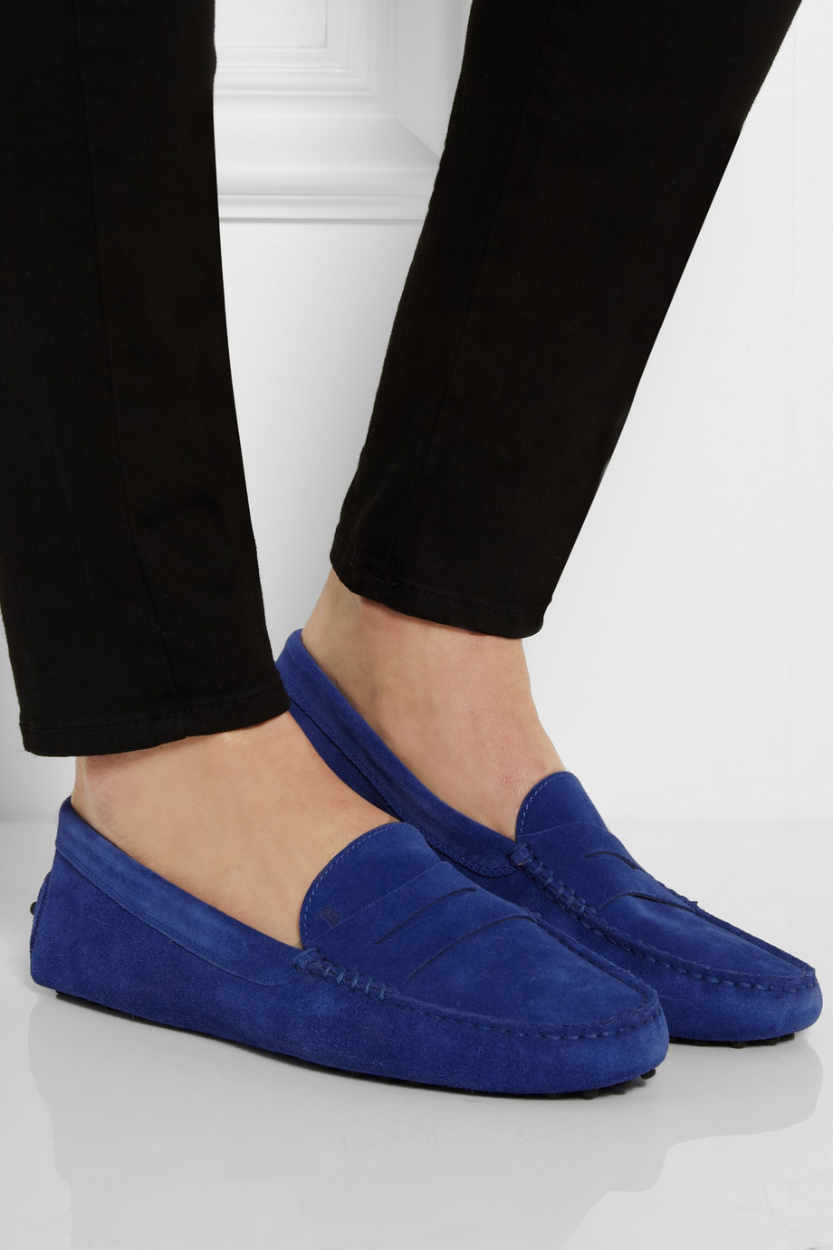 Gommino loafers - Blue Tod's S5MzwBH2Fs