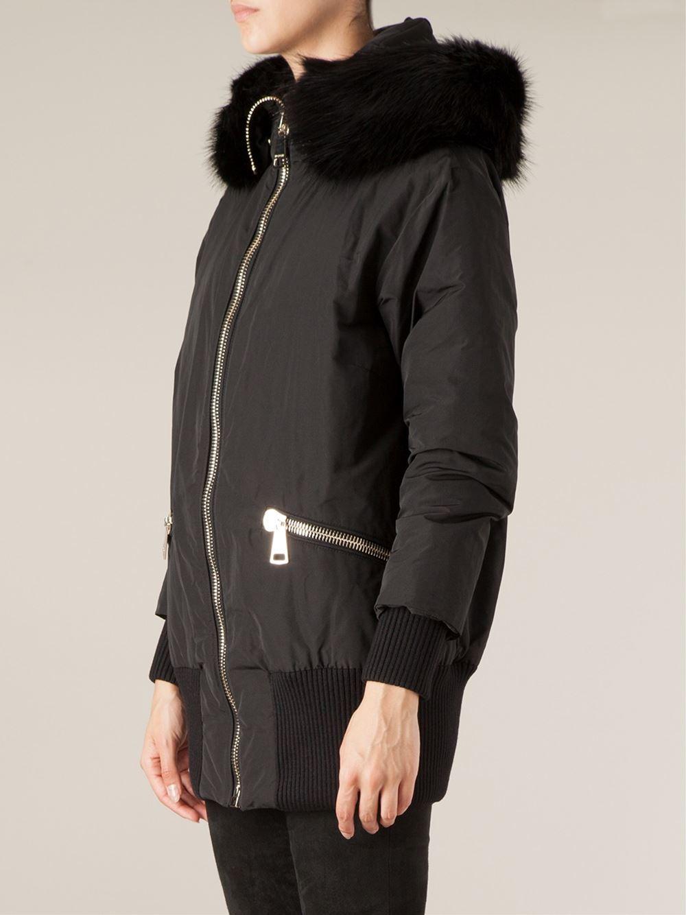 moncler black ski jacket