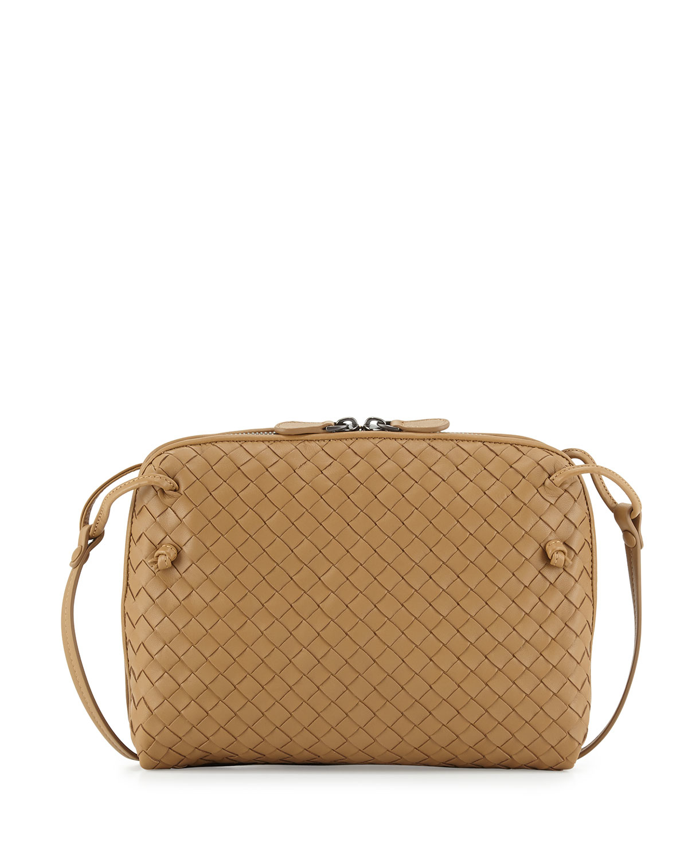 629b3d3f50 Bottega Veneta Veneta Small Crossbody Bag in Natural - Lyst