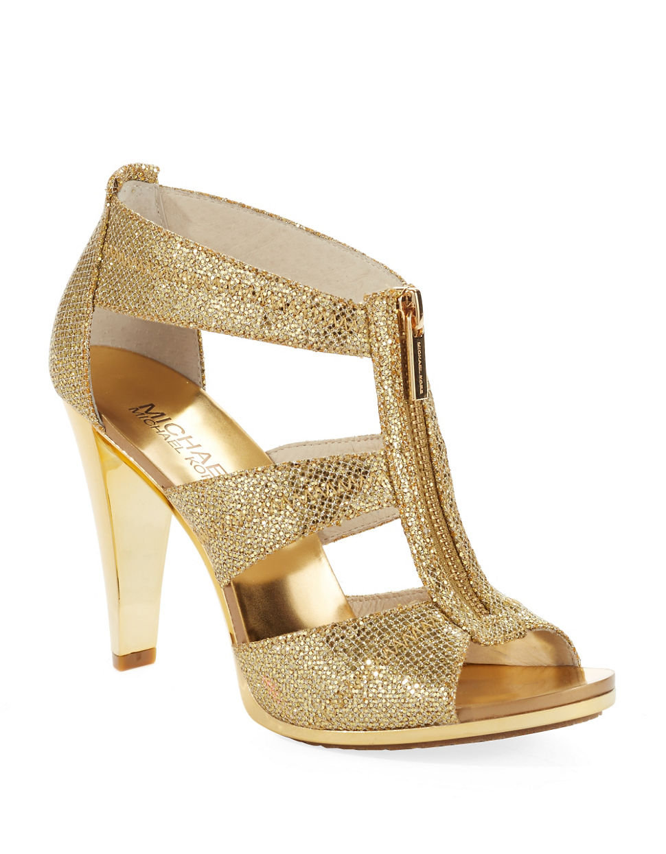 High Heels Shoes With Glitter