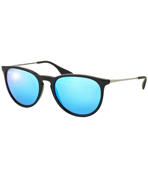81484e714b Ray Ban Aviators Black Frames Mirrored Lenses With Blue « Heritage Malta