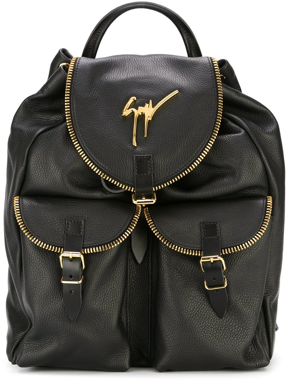 501069e53ae25 Giuseppe Zanotti 'regiment' Backpack in Black for Men - Lyst