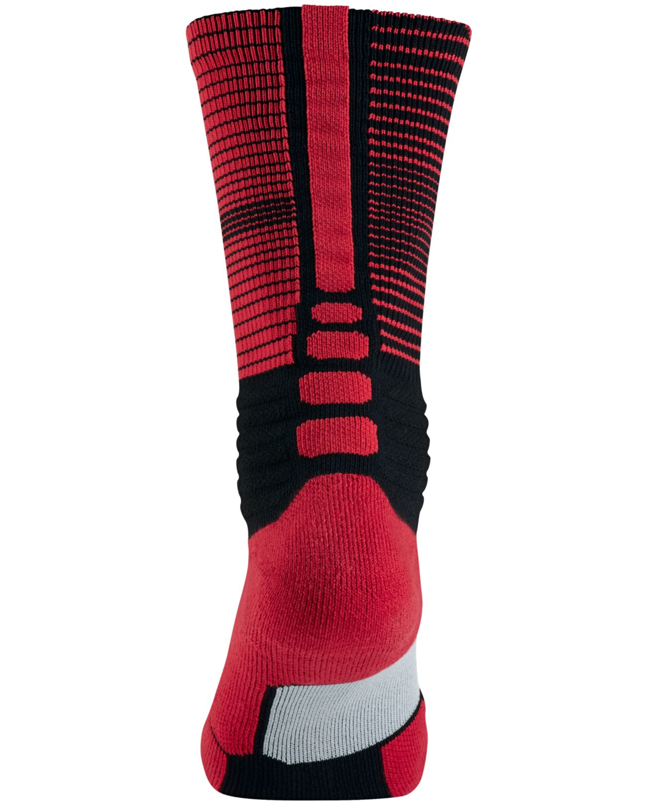 Nike Men's Hyperelite Disruptor Basketball Socks in Red ...