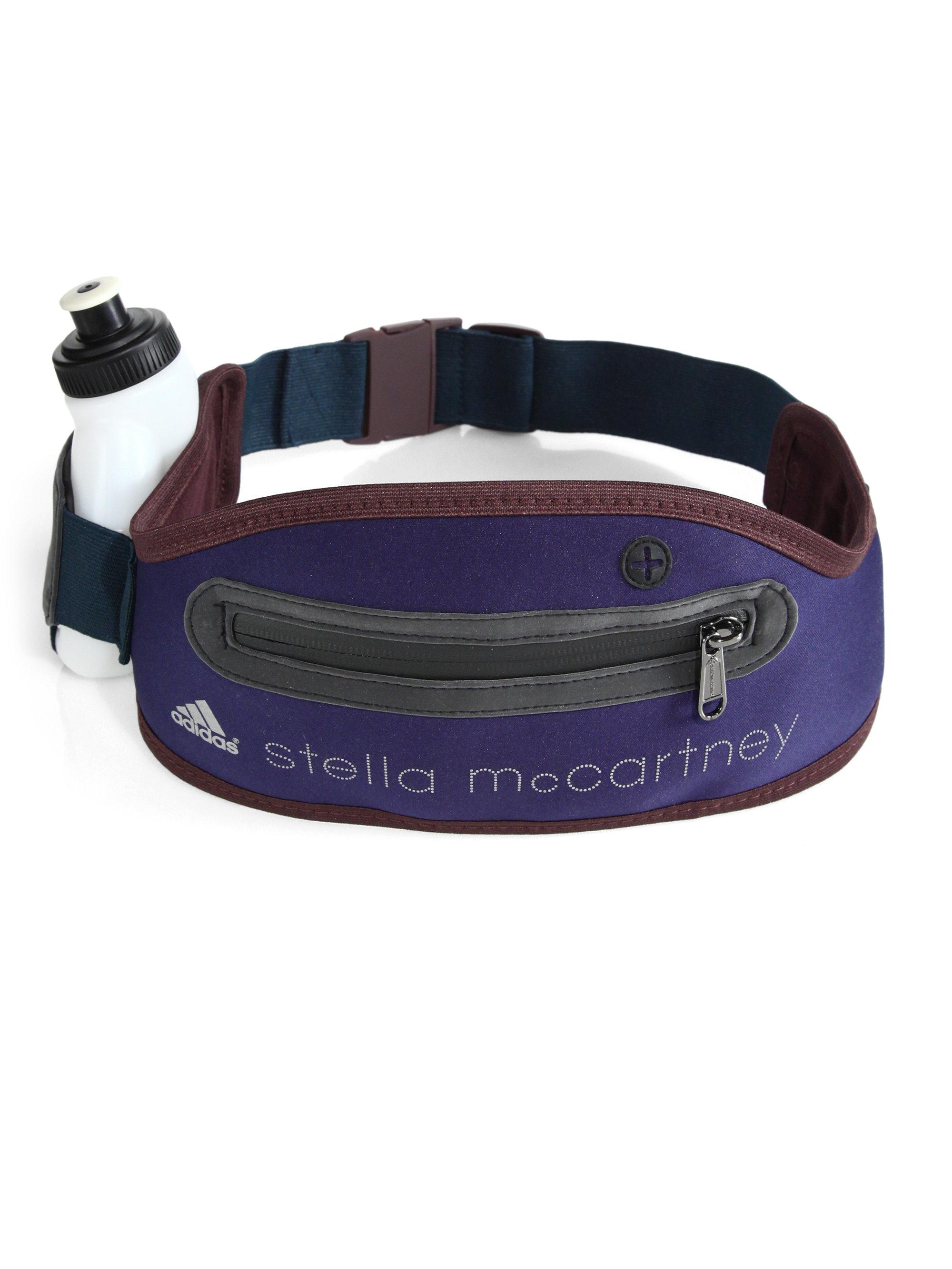 9a9fd931c5bc Lyst - adidas By Stella McCartney Running Belt Bag in Blue